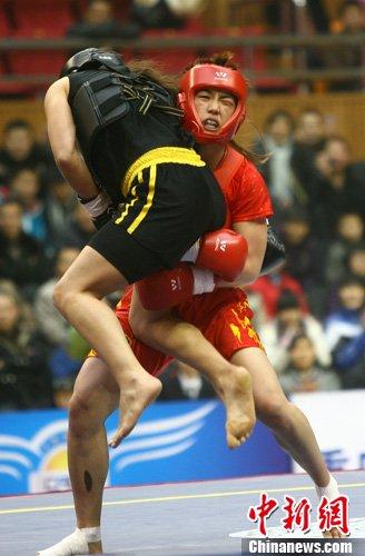 第五届世界杯武术散打比赛:中国女子散打夺四金