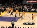 视频:马刺vs湖人 加索尔负角度勾手内线单打