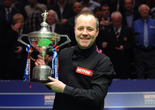 世锦赛希金斯18-15特鲁姆普 生涯第四次夺冠