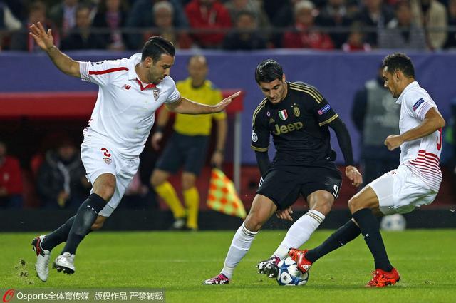 欧冠-尤文0-1塞维利亚 狮王建功迪巴拉中柱