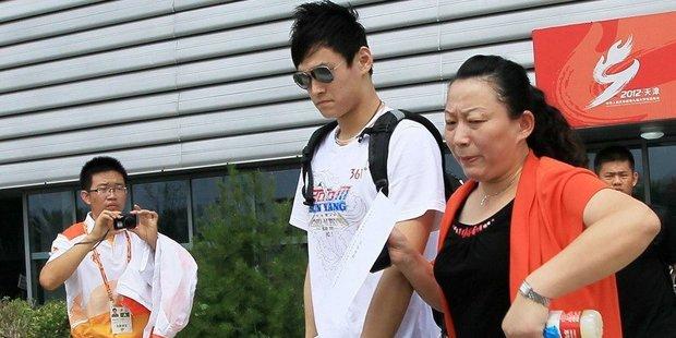 孙杨母亲介入孙杨训练的时间越来越多