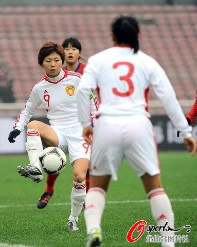 四国赛-女足0-0韩国 徐媛失单刀对手进球越位