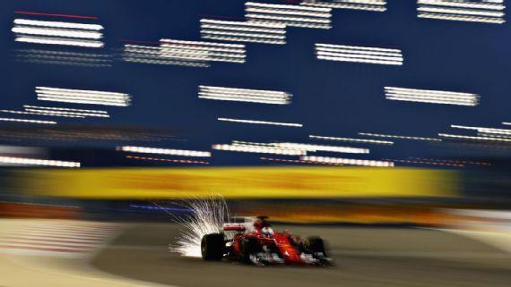 F1巴林练习赛维特尔最快 汉密尔顿表现低迷