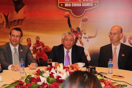 NBA总裁盛赞腾讯新媒体 期待未来更多合作