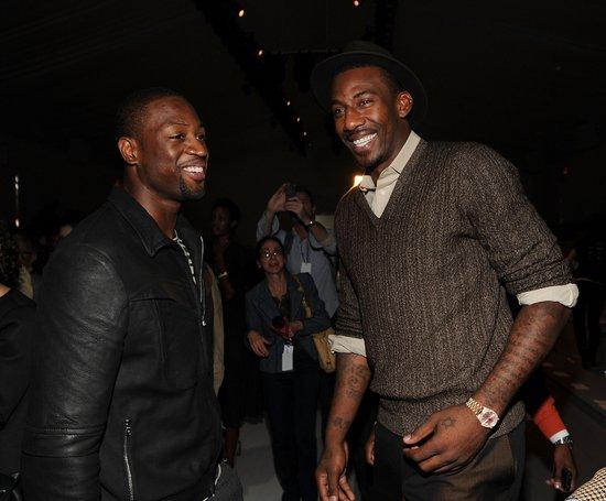 NBA球星闪耀纽约时装周 皇帝韦德引发围观潮图片