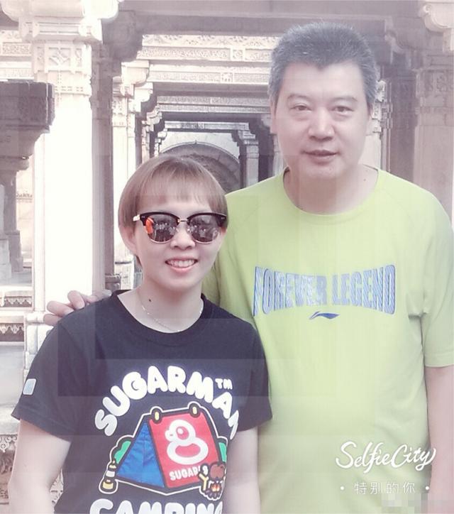 朱雨玲亚洲杯夺冠心情好 与恩师李隼畅游印度