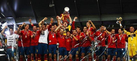 欧足联公布欧洲杯之队 西班牙10人意大利4将