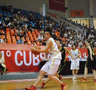 361°CUBS女超:第5届大学生篮球超级联赛落幕