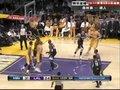 视频:森林狼vs湖人 加索尔助奥多姆干抜跳投
