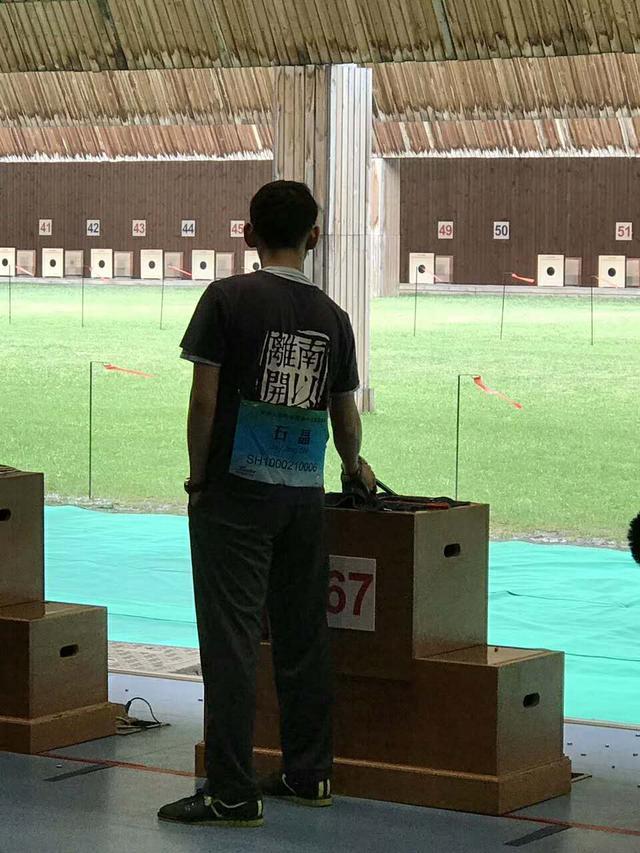 右眼险失明却将射击进行到底 美籍华人的全运会