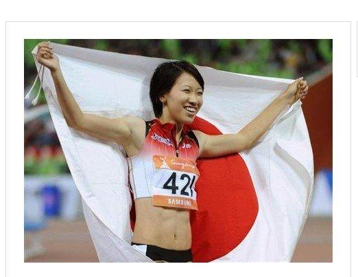 日本亚运闭幕式旗手确定 短跑人气美女当选
