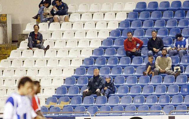 西班牙出台奇葩新规:球场上座不及75%要挨罚