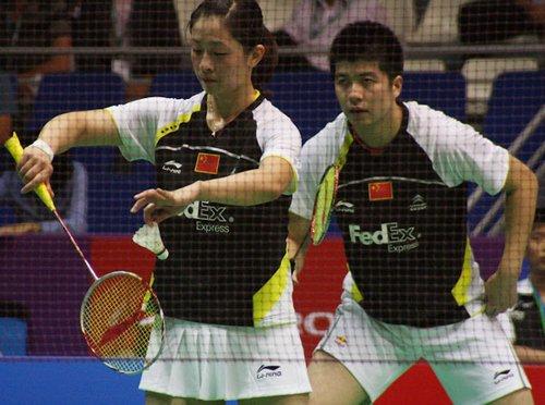 陶嘉明/张亚雯2-0胜日本组合 晋级混双第3轮