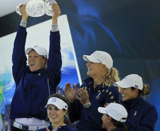 LPGA索尔海姆杯欧洲取胜 单人对抗赛美国惜败