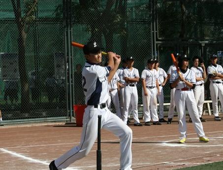 软式垒球展示、体验活动
