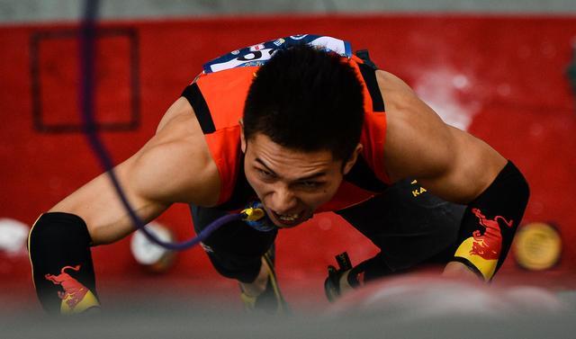 国际攀岩世界杯落幕 名将钟齐鑫夺速度赛冠军