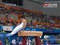视频:体操赛场黄哲奎鞍马表现一般