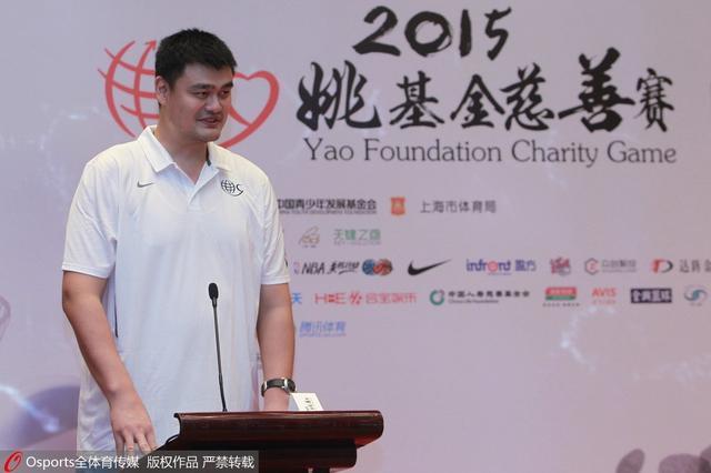 姚明当选CCTV年度十大慈善人物 曾去山区支教