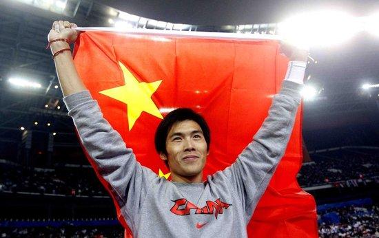 图文:男子撑杆跳决赛 中国选手杨雁盛获金牌
