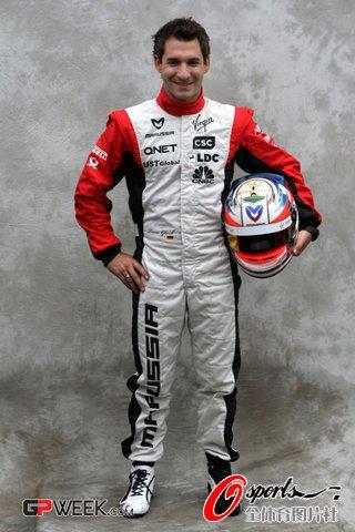 F1赛车手介绍:蒂姆-格洛克(维珍)