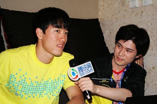 专访刘翔:前三步没压住 一直坚信能跑进13秒