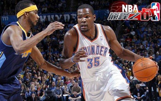 NBA巅峰战之雷霆 阿杜51分+韦少40分+猛男3双