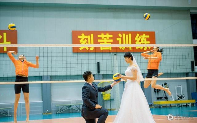 女排喜事频传二传沈静思下月将在京漳办婚礼