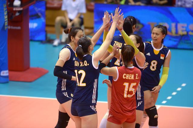 世锦赛中国女排3-0力挫德国 豪取复赛开门红