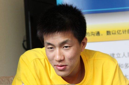 腾讯微博专访郭艾伦:想当巨星 最爱AI马布里