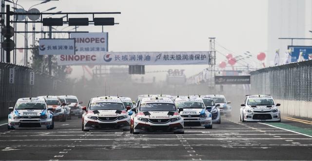 CTCC盐城街道赛 赛车巡回路演中韩联办文化节
