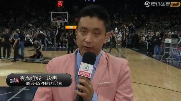 NBA中最会说相声的中国记者:他在认真讲段子