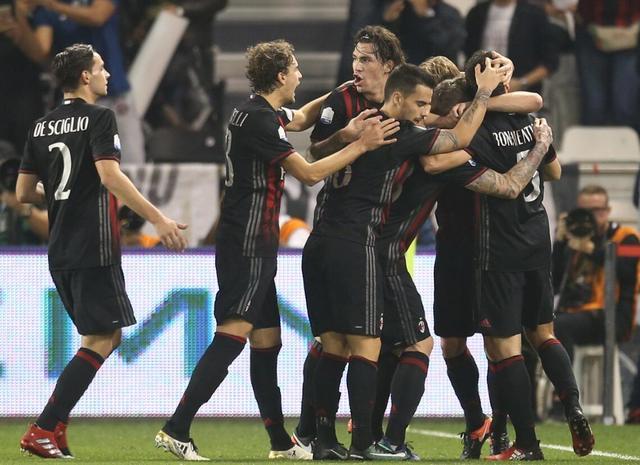7夺超级杯!5年首冠 AC米兰追平尤文夺冠纪录