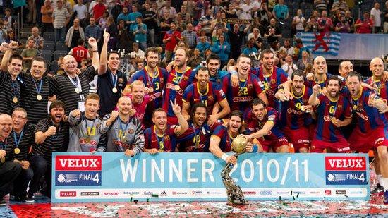 巴塞罗那足球俱乐部手球队成绩傲人亦领风骚