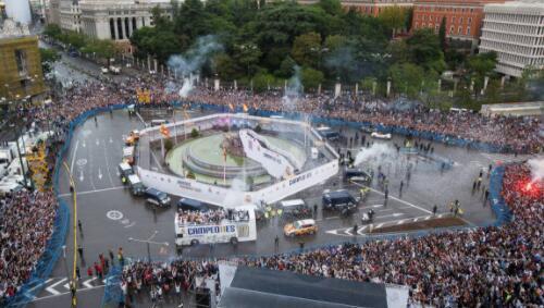 近1/3西班牙球迷支持皇马 夺冠庆祝地点敲定