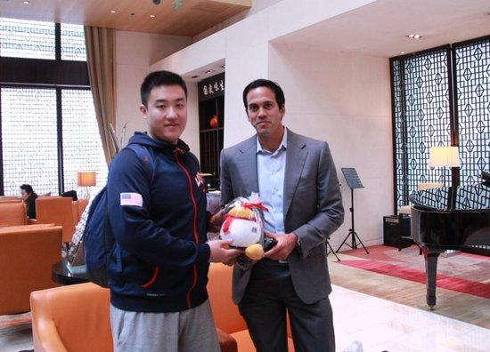 斯帅专访:热火用中国赛找状态 获阿伦很幸运