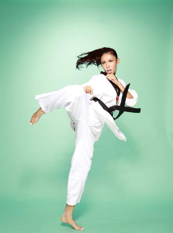 跆拳道冠军女神 张蓝心:最想为运动员做实事