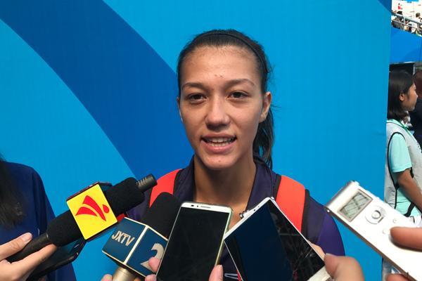 华人华侨妮娜:我有个梦想 奥运会为中国夺奖牌