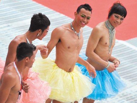 德国举办世界同性恋运动会 中国8人参赛(图)