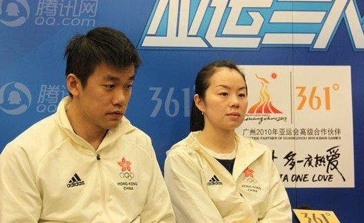 实录:帖亚娜、唐鹏做客 夫妻档征战广州亚运