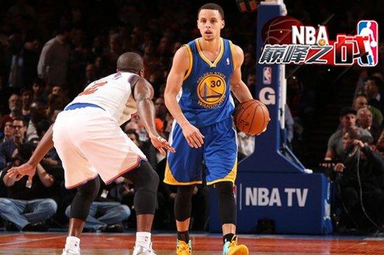 NBA巅峰战之勇士 萌神疯砍54分狂飙11记远射
