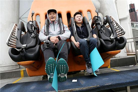 李小鹏搭档力高能无奈运气欠 网友:求赐好运
