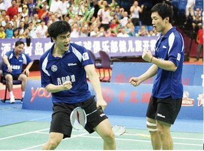 青岛啤酒队夺得2010中国羽毛球超级联赛冠军