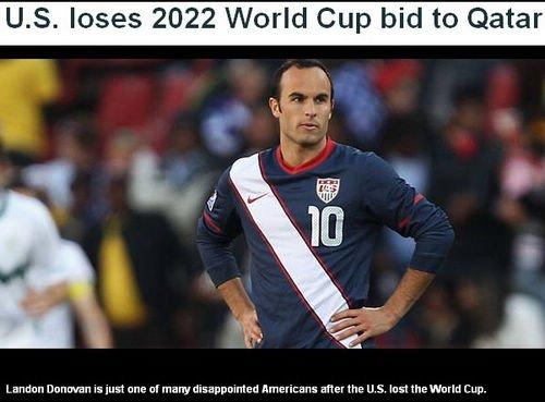 美媒体:1年2次申体育赛失败 美足球地位太差