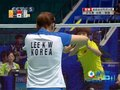 视频:中国羽球女双实力不凡 杀球得分