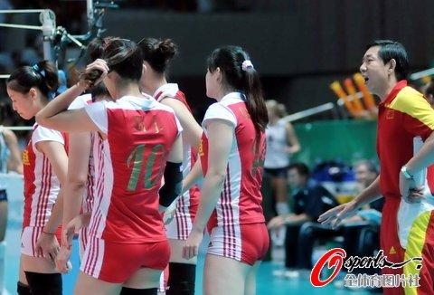 中国女排0-3遭美国横扫 提前无缘总决赛争冠