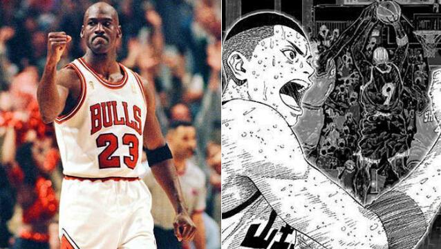 策划:灌篮高手之NBA原型 流川枫-乔丹篇截图