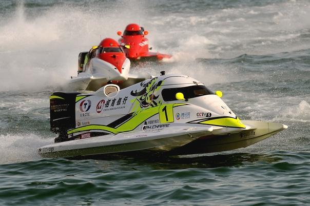 F1摩托艇世锦赛收官战 天荣队夺排位赛第二
