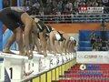 200m仰泳叶诗文领先
