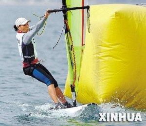 帆板亚运冠军陈丽娜:家门口比赛一定要争光