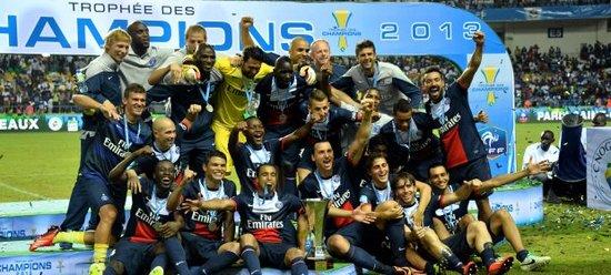 巴黎圣日耳曼补时逆转波尔多 夺超级杯冠军